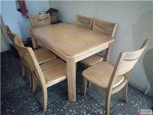 餐桌带六把椅子