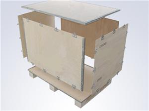 永平包装供应木箱钢带箱木托盘