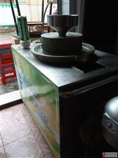 早餐店倒闭了石磨豆浆机及设备便宜卖了
