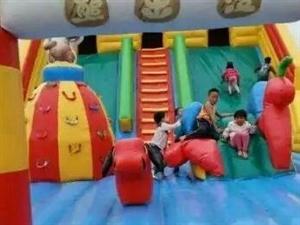 儿童城堡气垫床