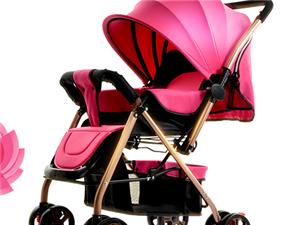 低价出售婴儿可座可躺推车