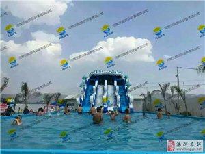 大型支架泳池  充气城堡    充气水滑梯