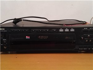 出售新科超级VCD及凌骏功放音响一套