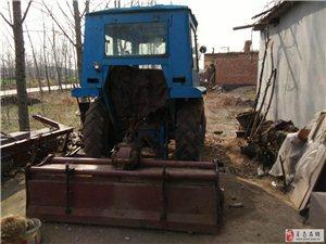 农用耕地耙地50拖拉机低价出售(送粗耙,细耙两台)