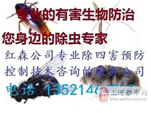 除虫杀蟑,灭鼠,治蚊蝇等虫控消杀