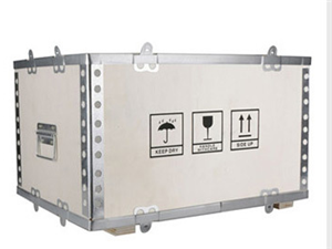 钢边箱钢带箱出口木箱