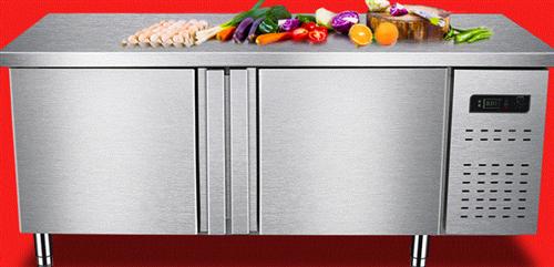 全新不锈钢商用卧式双温冷冻冷藏操作台保?#20351;?#20316;台冰箱