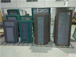 做铝合金纱窗玻璃金刚网防盗纱门 换纱窗网维修