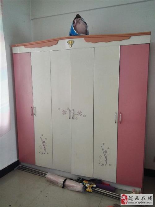 六开门实木大衣柜