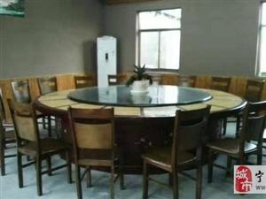 闲置的大理石电动大圆桌低价处理