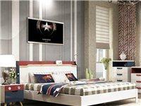 双虎家私卧室家具组合1.5米床1.8米床