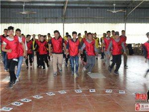 湛江集结号|企业拓展培训开展−−提升团队凝聚力