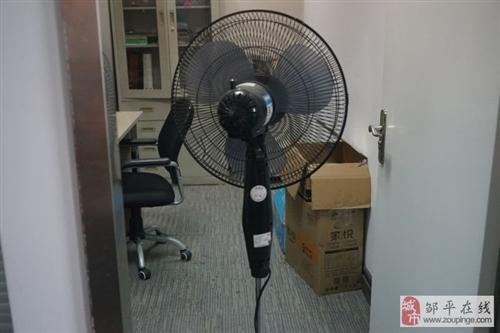 新禾落地式黑色電風扇