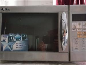 美的钛金星不锈钢豪华机身微波炉