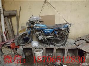 青州二手摩托车,金城AX-100,全新轮胎,拆配件