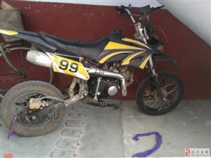 出售越野摩托车110cc一辆,