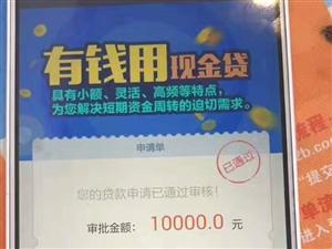 有用分期現金貸款無需抵押和擔保,當天可審批10000-200