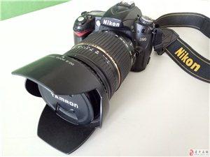 出售换代闲置尼康D90相机一套