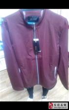 刚买的男士外套