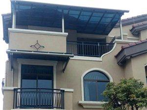 鋁合金雨棚制作,定制窗棚大門棚露臺棚別墅碧桂園雨棚
