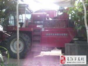 新疆牧神7300玉米收割机