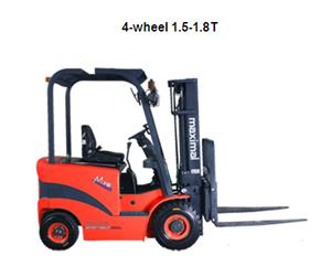 施帝威1.3-2吨三支点电动叉车,2-5吨平衡重式电动叉车