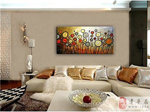 手繪油畫,裝飾畫,水晶畫,居家辦公掛畫,可定制