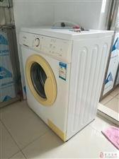 低价出美的滚筒洗衣机一台