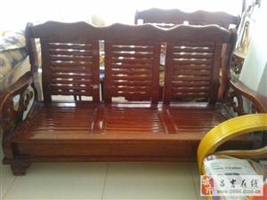 木质沙发三套