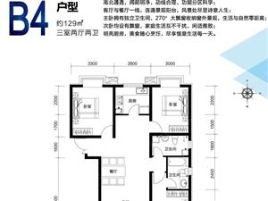 富地广场三居室