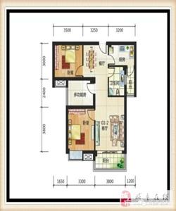 三室两厅双阳台,100.05平米