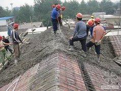 处理楼顶漏水,盖瓦等土建工程。