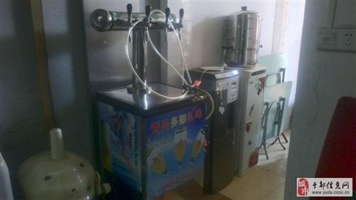 有扎啤機、奶茶店水吧臺、冰激凌機、制冰機、奶茶店設備及沙發桌子貨柜出售