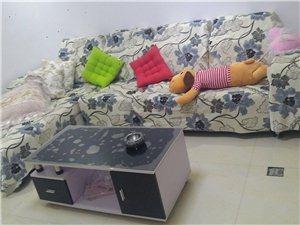 低价出售二手沙发/茶几/电视柜