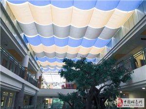 上海涼度電動天棚簾