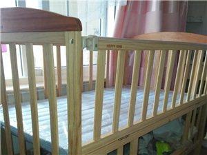 售小龙哈彼婴儿床+摇篮床+立杆防蚊帐