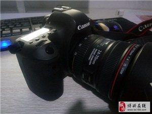 出售9成新佳能6d套机24-70mm镜头