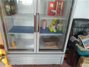 白雪立式冰柜,九成新,有发票