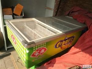 【低价出售】冷藏柜一台、绞肉机一台八成新