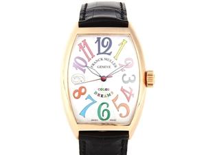 奢侈品回收乌市法兰克穆勒手表二手回收处理