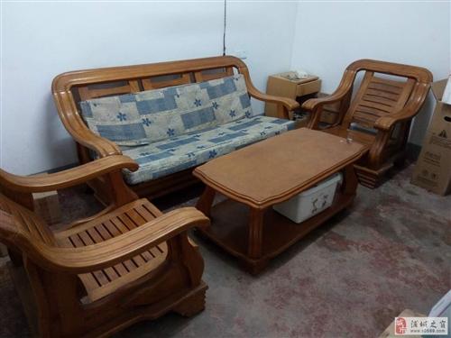 實木沙發一套