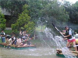 夏天趣味運動會 水上團隊活動拓展野炊燒烤