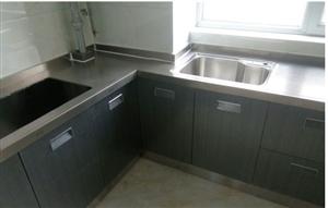 橱柜整体不锈钢置物灶台多功能厨房柜