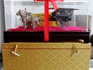 兵馬俑銅車馬青銅器工藝品辦公室擺件送領導