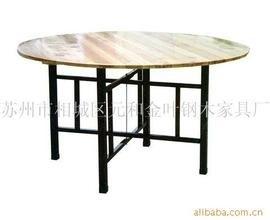 1米4折叠圆桌皮革木椅钢化玻璃转盘扎啤机大炮杯处理