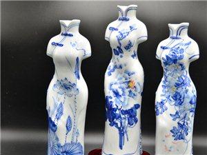 家居裝飾選景德鎮陶瓷花瓶雕塑工藝品