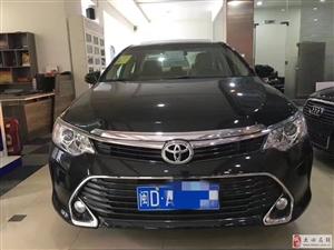 全新丰田凯美瑞――首付只要3万――身份证驾驶证提