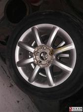 全新领驭轮胎带钢圈