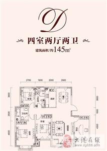 D户型  3室2厅2卫1厨 145.00�O