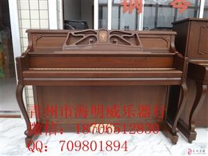 青州二手钢琴总代理,红木钢琴,精美雕花钢琴二手钢琴